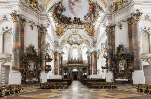 Fotografie, Obraz  Basilika Ottobeuren