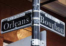 Street Signs For Rue D' Orlean...