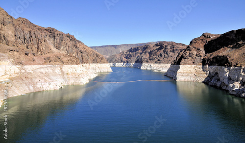 Lake Mead / Views of Lake Mead in Nevada Canvas Print
