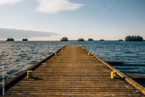 Fototapeta Yenisei River, Siberia obraz