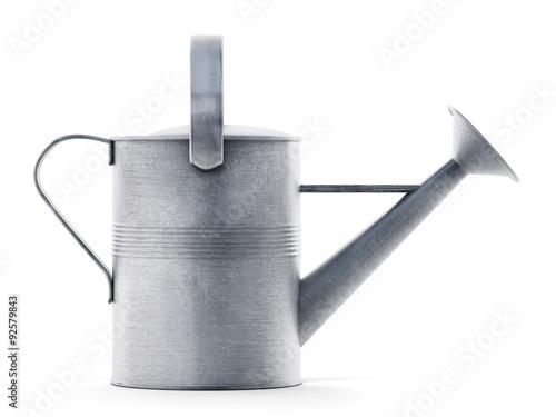 Metal watering can Fototapeta