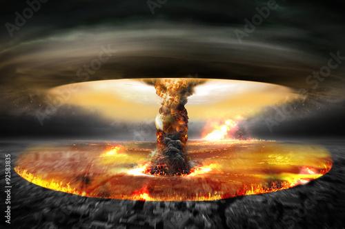 Fotografía  Nuclear Atomic War