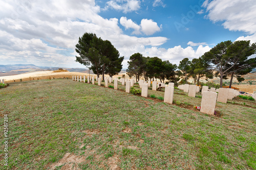 Keuken foto achterwand Begraafplaats Military Cemetery