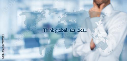 Fotografia  Think global act local