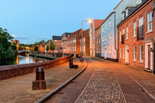 Night Time In Norwich