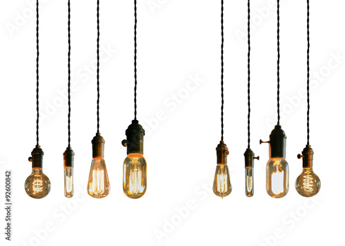 Photo  Edison Lightbulbs
