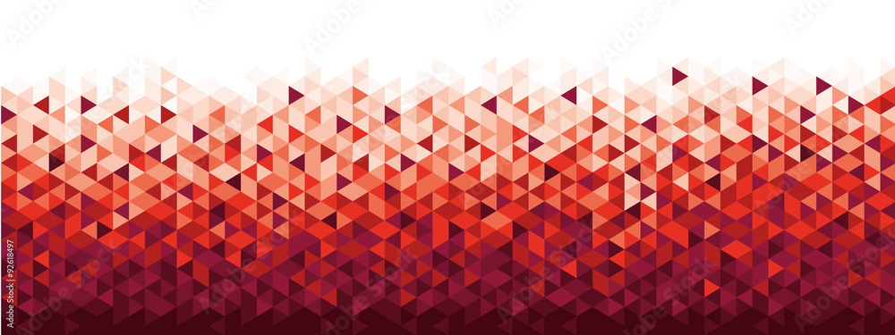Fototapeta Abstract geometric banner