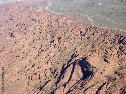Fotografie, Obraz  Rocky terrain region of Nevada