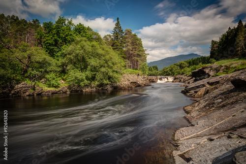 Photo  Glencoe Waterfall