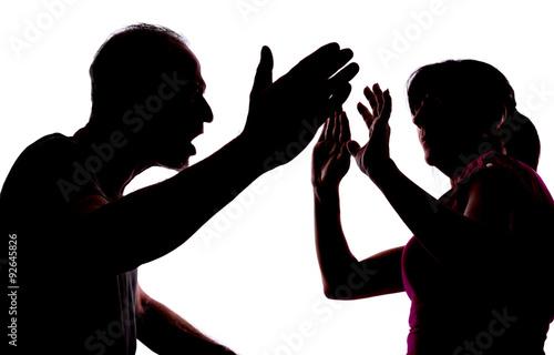 Fotografia Domestic violence
