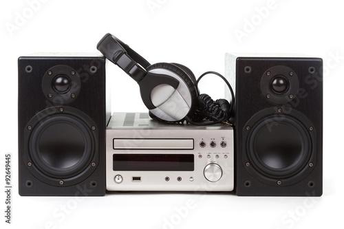 Fotografía  Hi-Fi stereo system