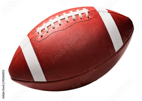 фотографія  American College High School Football on White
