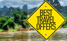 Best Travel Offers Sign With E...