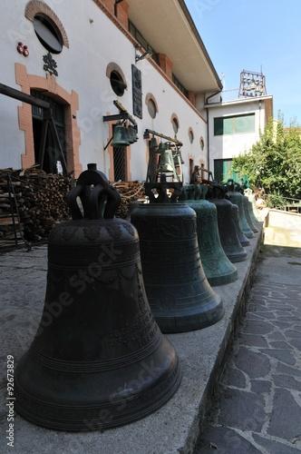 Agnone,  le campane Canvas Print