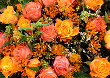 Mixed Boquet With Autumn Color...
