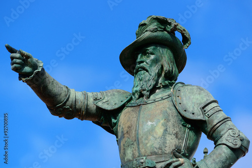 Fotografie, Obraz  Juan Ponce De Leon statue