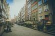 Long Market street in Gdansk