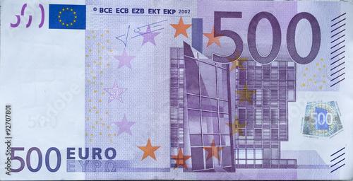 Photo  500 Euro