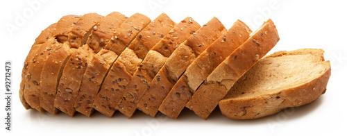 Billede på lærred pane integrale tagliato e fette