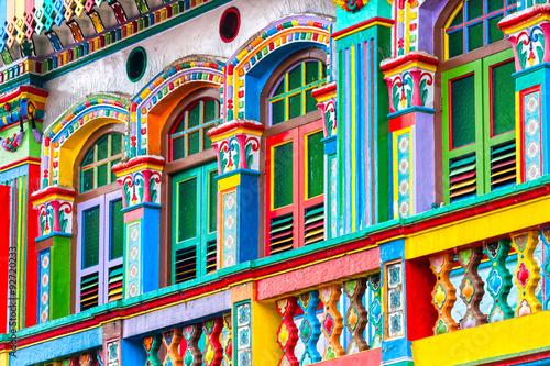 Naklejka premium Małe Indie, Singapur