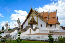 Wat Phumin Temple At Nan Provi...
