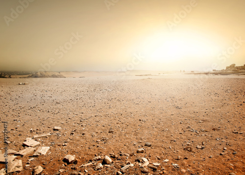 Photo sur Toile Desert de sable Desert in Egypt