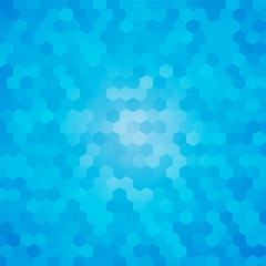 modern blue hexagon background
