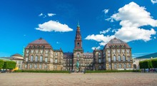 Christiansborg Palace En Copenhagen, Denmark