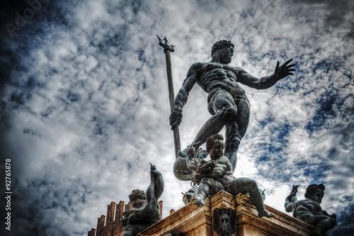 Triton statue in Bologna Fototapeta