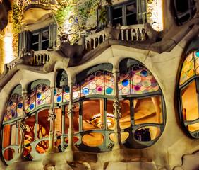 Fototapeta Casa Batllo, Barcelona, Spain.