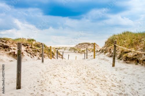 Fototapeta morze Bałtyk slowinski-park-narodowy-nad-baltykiem