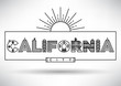 California City Typography Design with Building Letters.