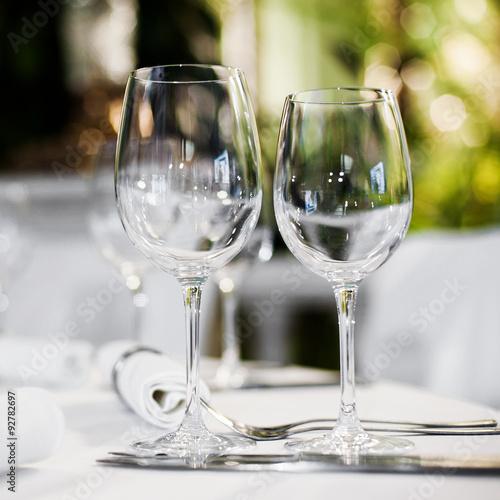 Beautiful table set