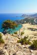 Tsambika beach on Rhodos. Greece.