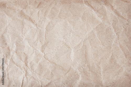 Fotografia, Obraz  Old rumpled paper background