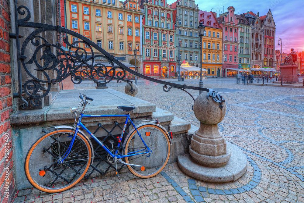 Fototapety, obrazy: Wrocław stare miasto