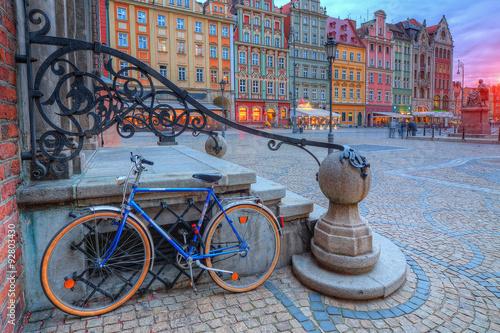 Obraz Wrocław stare miasto - fototapety do salonu