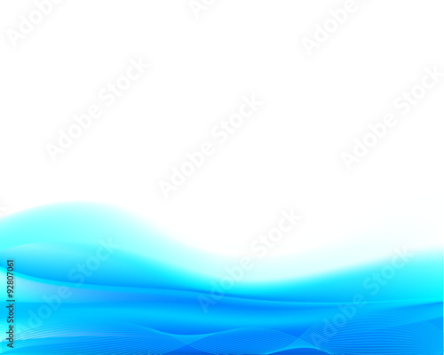 Photo Stands Fractal waves Silhouettes Abstract Background