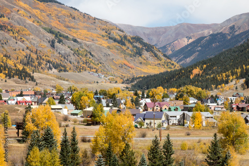Fotografie, Obraz  Scenic Silverton, Colorado nestled in the San Juan Mountains
