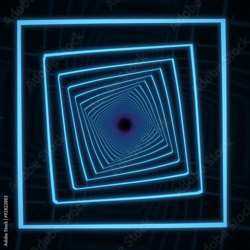 Fotobehang - tunnel