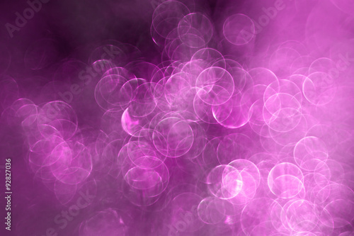 Purple Christmas lights - holiday background - 92827036