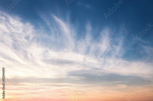 Fototapeta Beautiful sky obraz