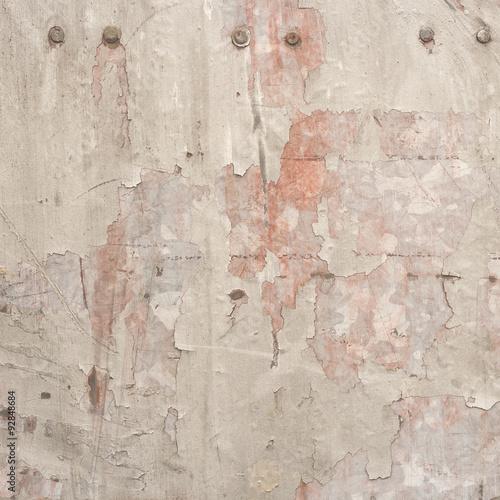 Foto auf AluDibond Alte schmutzig texturierte wand metalic wall