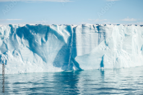 Fotobehang Poolcirkel beautiful iceberg in Arctic for background