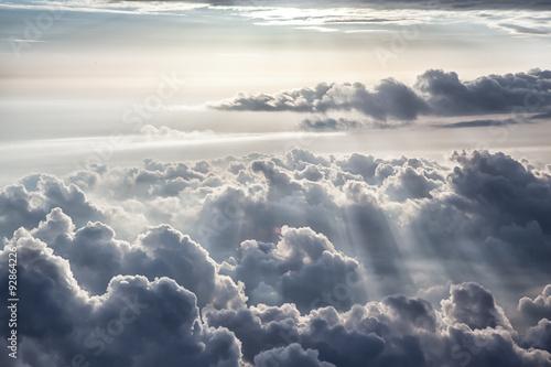 Fototapeta niebo ciemne-zachmurzone-niebo