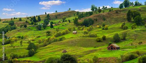 Obraz na płótnie green hills