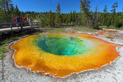 Carta da parati Yellowstone National Park in Wyoming