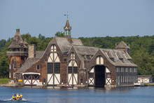 Boldt Castle Boathouse On Well...