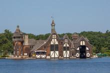 Boldt Castle Boathouse On Wellesley Island