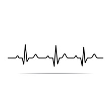 Vector Illustration Heart Rhyt...